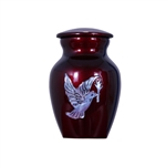 Dove Keepsake - Burgundy Red