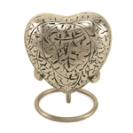 Silver Oak Keepsake Heart