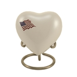 Classic Flag Keepsake Heart