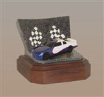 Blue Race Car Keepsake