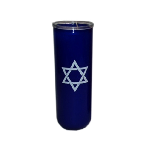 7 day star of david candle