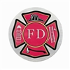 "Firefighter 12"" Hearse/Lead Car Magnet"