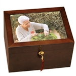 Fidelis III Photo Frame Lid Chest