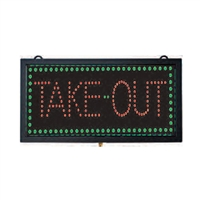 <b>AARCO</b> Lighted Take Out Sign