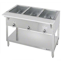 Duke 3 Well Steam Table