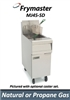 <b>Frymaster</b> High Performance Gas Fryer <b>50 lbs.</b>