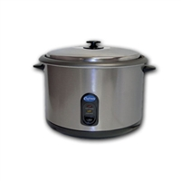 <b>Globe</b> <i>Chefmate</i> Rice Cooker/Warmer <b>25 Cup</b>