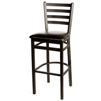 Sesco Ladder Back Barstool *Textured Frame*