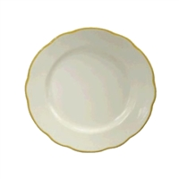 <b>Oneida</b> Buffalo China Plate Gold Trim <b>9 5/8&quot</b>