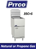 Pitco 35 - 40 lb. Economy Gas Fryer