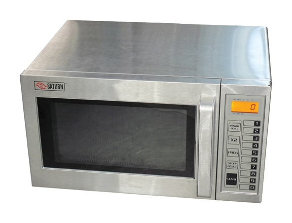 B Saturn Programmable Commercial Microwave Oven 1000 Watts