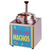 Star Nacho Cheese Warmer With Pump & Heated Spout