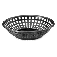<b>Tablecraft</b> Black Serving Basket