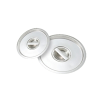 <b>Winco</b> Stainless Steel Cover for <b>8.25 qt.</b> Bain Marie