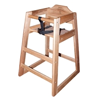 <b>Winco</b> Youth Chair Natural Finish