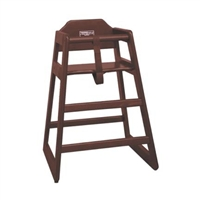 <b>Winco</b> Youth Chair Walnut Finish