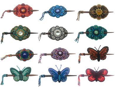 Assortment - Barrette - Oval & Barrettes