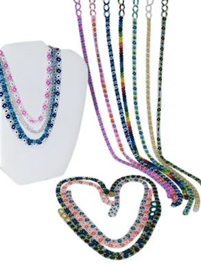 Assortment - Necklace - Flower Chain