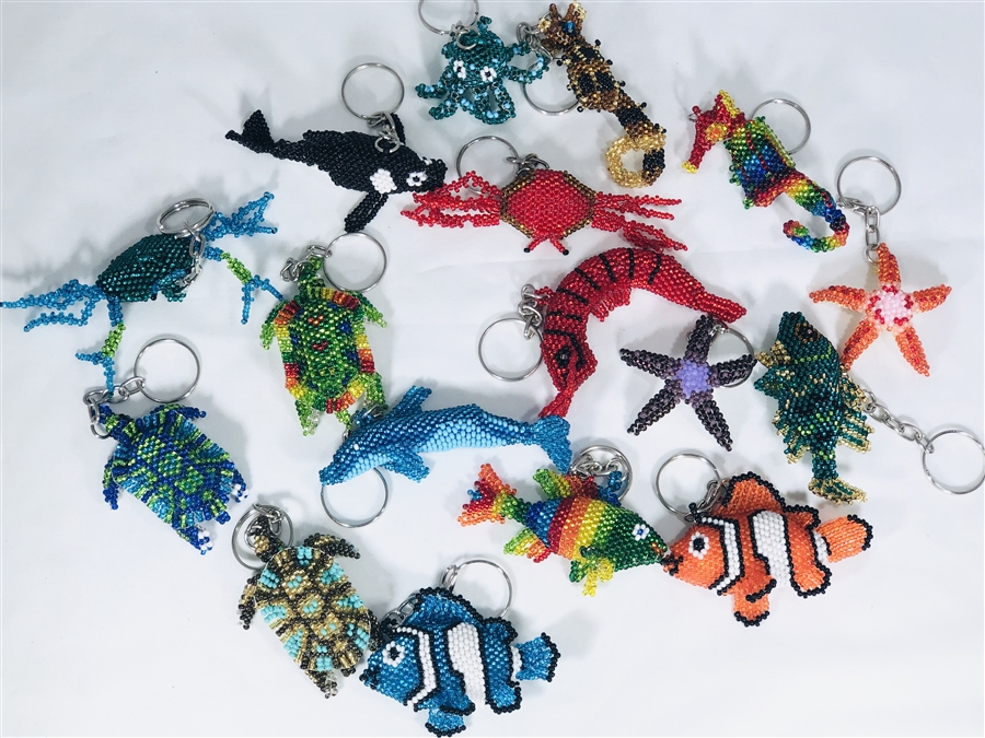 Assortment - Zipper Charm - Sealife