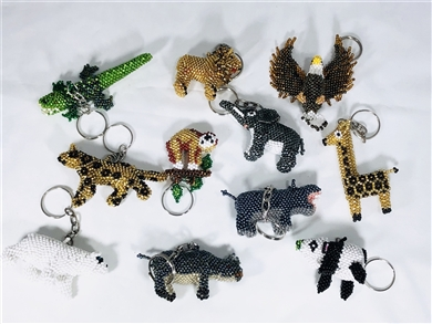 Assortment - Zipper Charm - Zoo