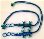 Anklet - Gecko Turquoise/Blue