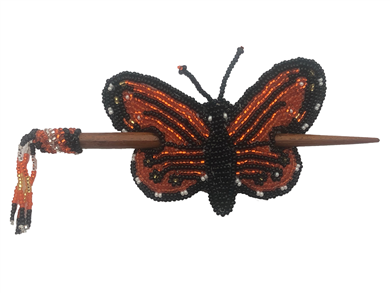 Barrette-Butterfly Monarch