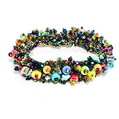 Rosa Caterpillar Bracelet Multicolor