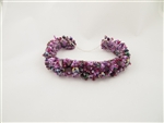 Caterpillar Bracelet-Magnetic - Pink/Grape