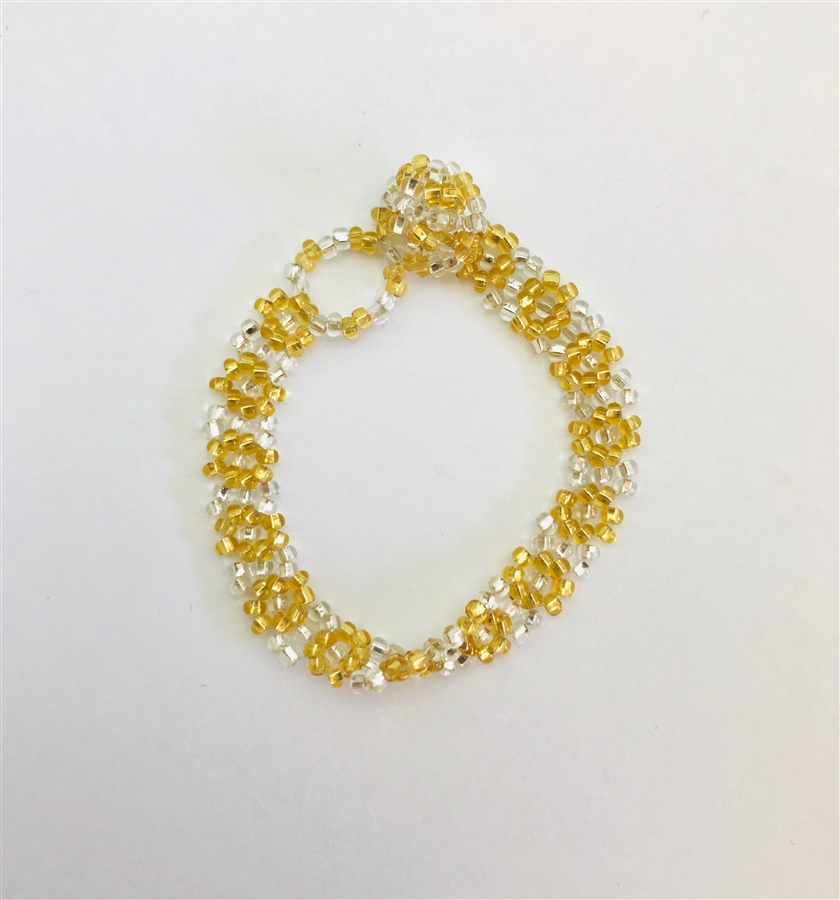 Bracelet - Flower Chain for 3-6 year olds Gold/Silver