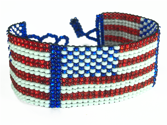 Bracelet - Friendship - US Flag