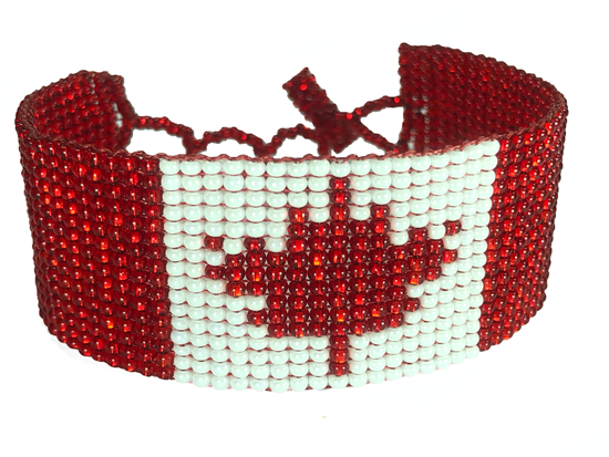 Bracelet Friendship - Canada Flag
