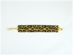 "Bracelet - 1"" Friendship - Leopard"