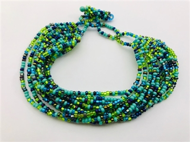Bracelet - Mia Lime/Grape/Turquoise Confetti
