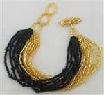 Bracelet Mia - Gold/Black