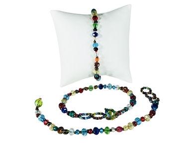 Multicolor Single Strand Bracelet
