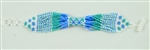 Bracelet Rope - Periwinkle Blue, Seafoam and White