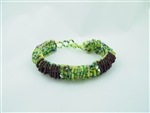 Caterpillar Loop Bracelet Grape-Lime