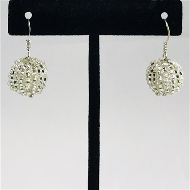 Tanya Earrings - Silver