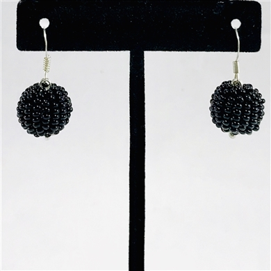 Tanya Earrings - Black
