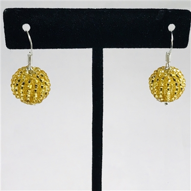 Tanya Earrings - Gold