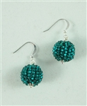 Tanya Earrings - Emerald