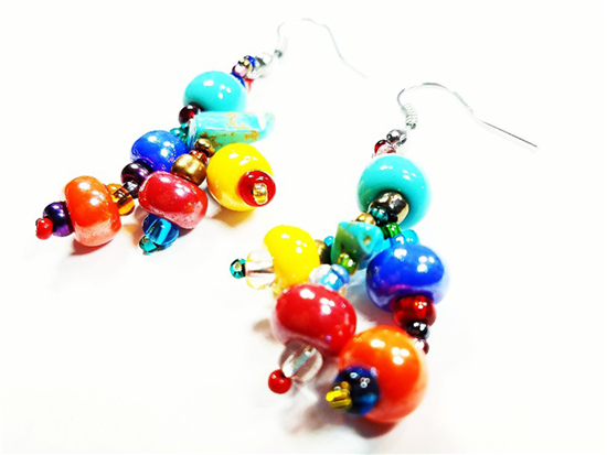 Easy Elegance Earrings - Multicolor