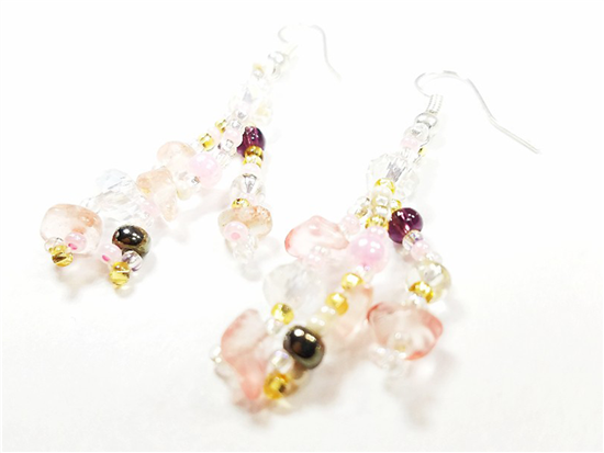 Easy Elegance Earrings - Rose