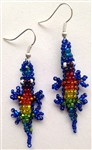Earrings - Gecko Rainbow