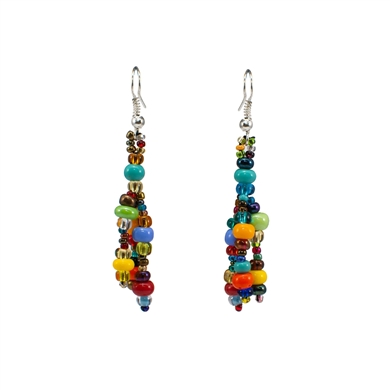 Earrings - Multicolor Long