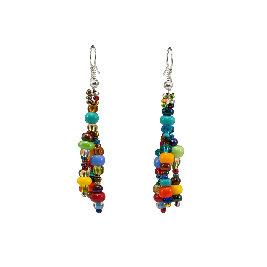 Earrings - Multicolor Large