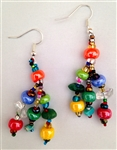 Earrings - Medium Multicolor