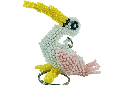 Keychain Charm - Stork Pink - It's a Girl!