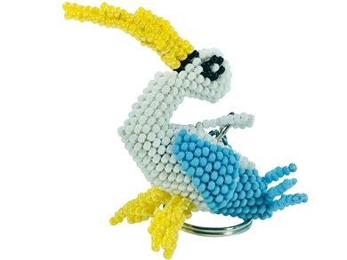 Keychain Charm - Stork Blue - It's a Boy!