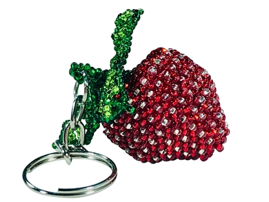 Keychain Charm - Strawberry